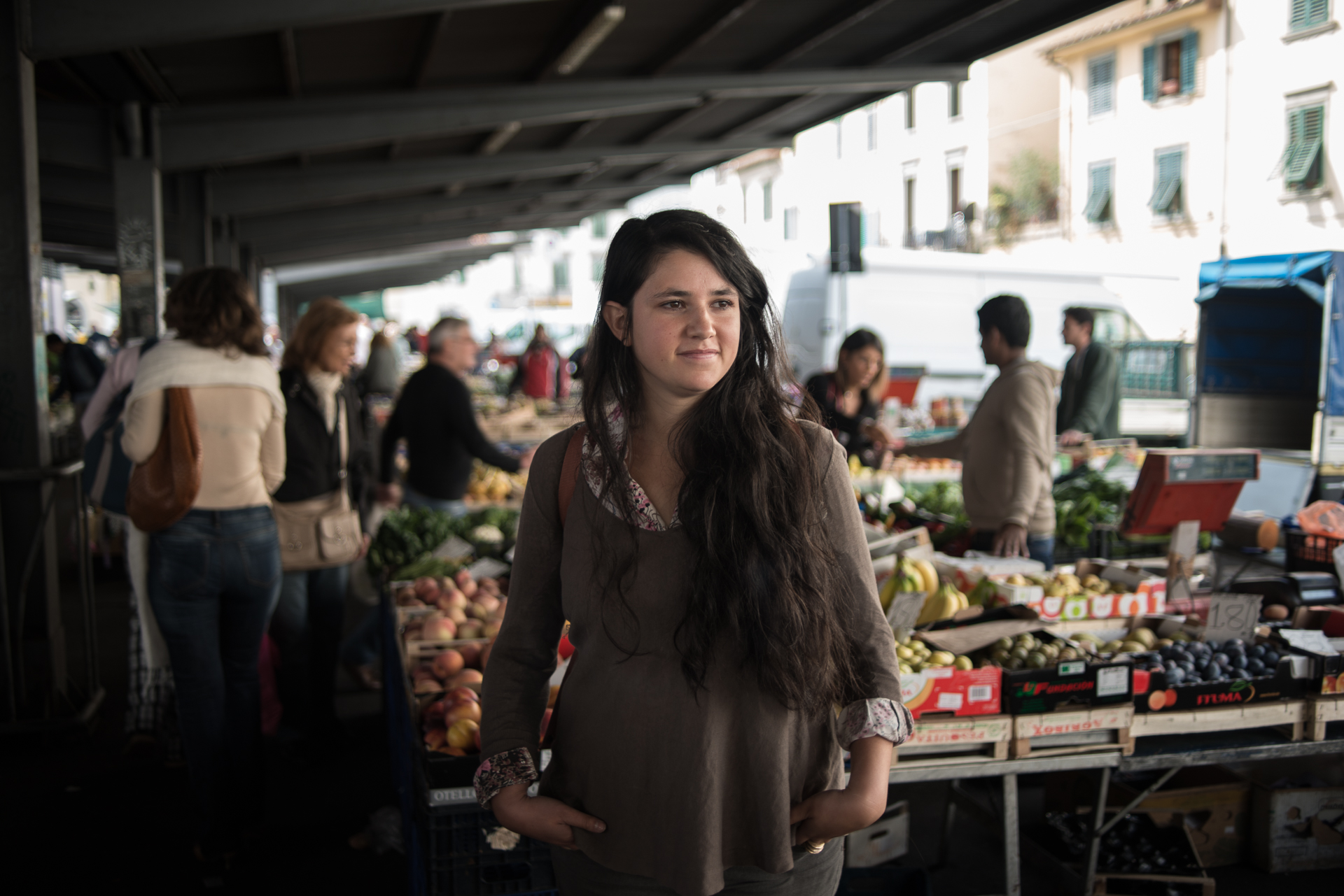 Giullia from Senza Spreco - an Italian organisation based in Florence that fights to reduce the amount of edible food going to waste