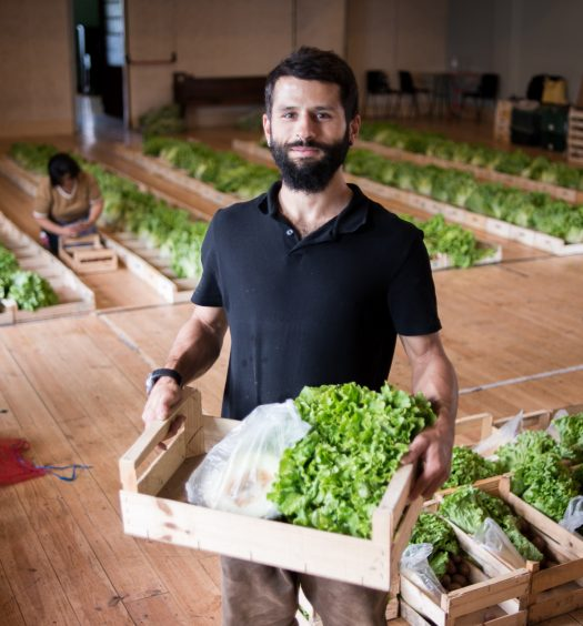 Miguel from Fruta Feia, Portugal - Food Waste Warrior fighting food waste