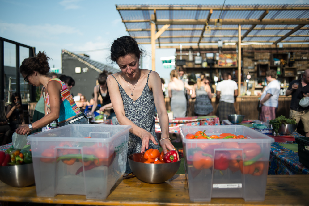 Disco Soup - Fighting food waste while having fun - Chris King, Photographer documenting food waste
